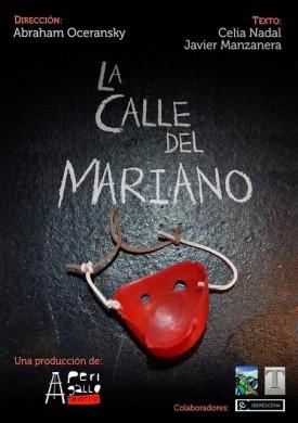 cartel la calle del mariano perigallo teatro